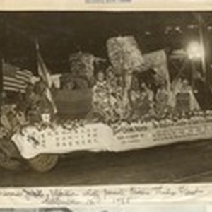 [Great China Theater float at the California Diamond Jubilee celebration]