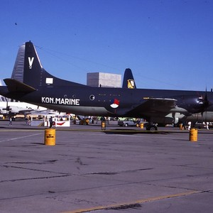 Lockheed P-3C Orion 301 Kon. Marine NAS Moffett Field 2Jul83 Peter B ...