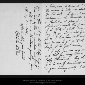 Letter from Charles Keeler to John Muir, 1910 Dec 23