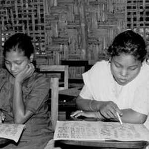 Teaching of Future kids in Bangladesh, 1990