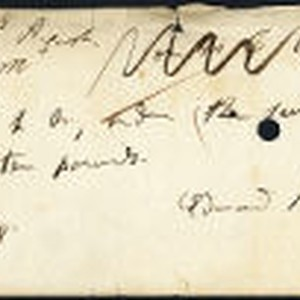 Edmund Kean bank draft
