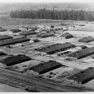 Ross Field, U.S. Army Balloon School, Aerial View Looking Northeast