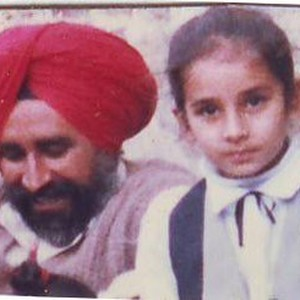Jaswant Singh Khalra and his Daughter, Navkiran Khalra