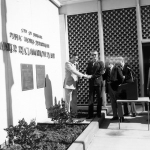 Water Reclamation Plant Dedication 1976