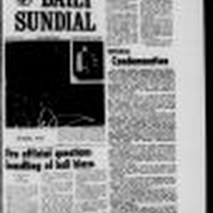 Sundial (Northridge, Los Angeles, Calif.) 1968-12-13
