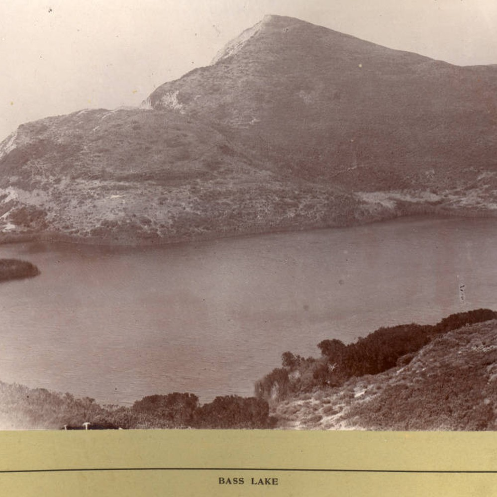 Calisphere: Bass Lake in the Point Reyes area of western