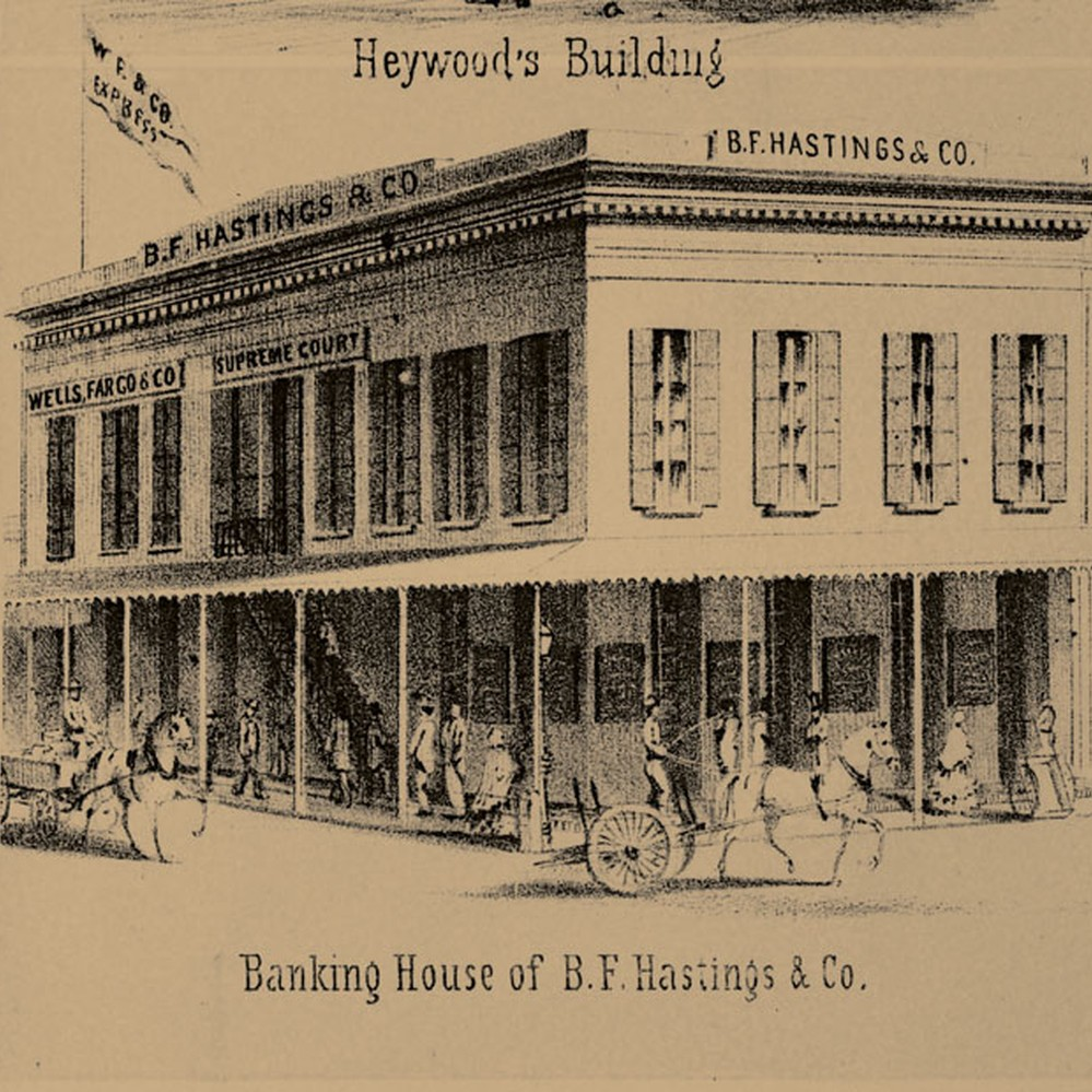 Calisphere Banking House Of B F Hastings Co
