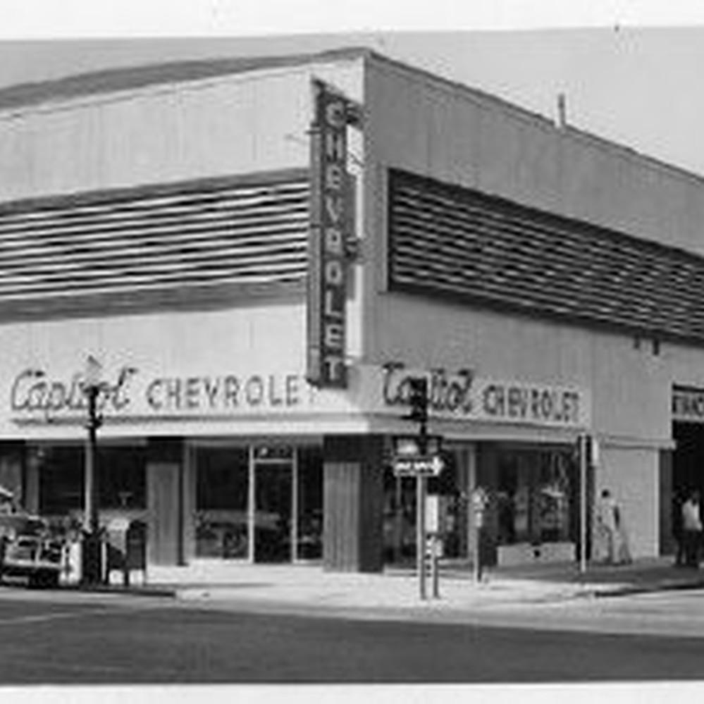 Chevy Dealership Sacramento >> Calisphere Capitol Chevrolet