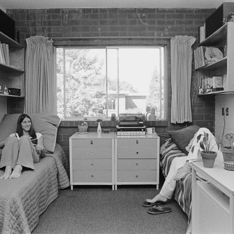 calisphere dorm life in washburn hall san jose state college