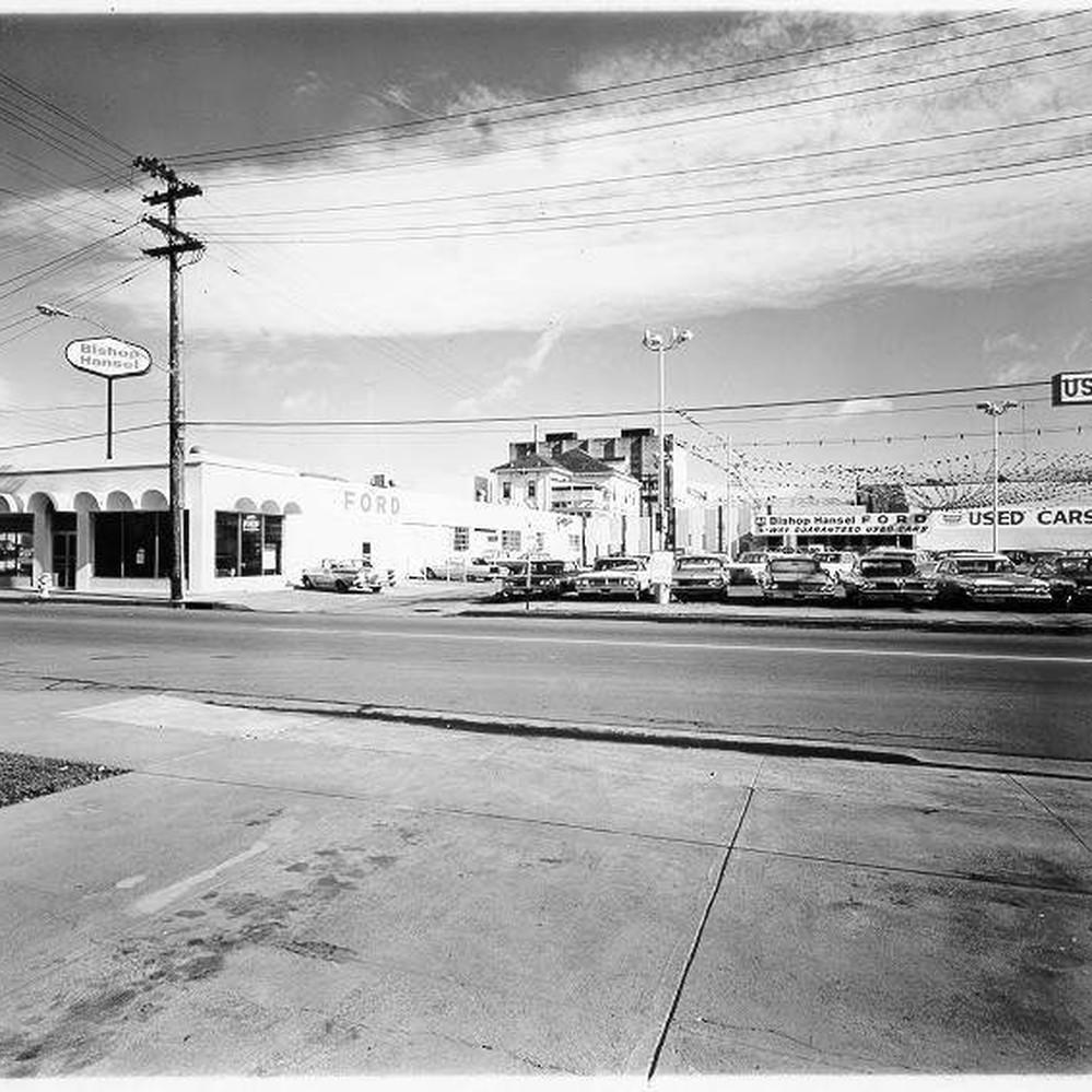 & Calisphere: Bishop Hansel Ford Santa Rosa California 1965 markmcfarlin.com
