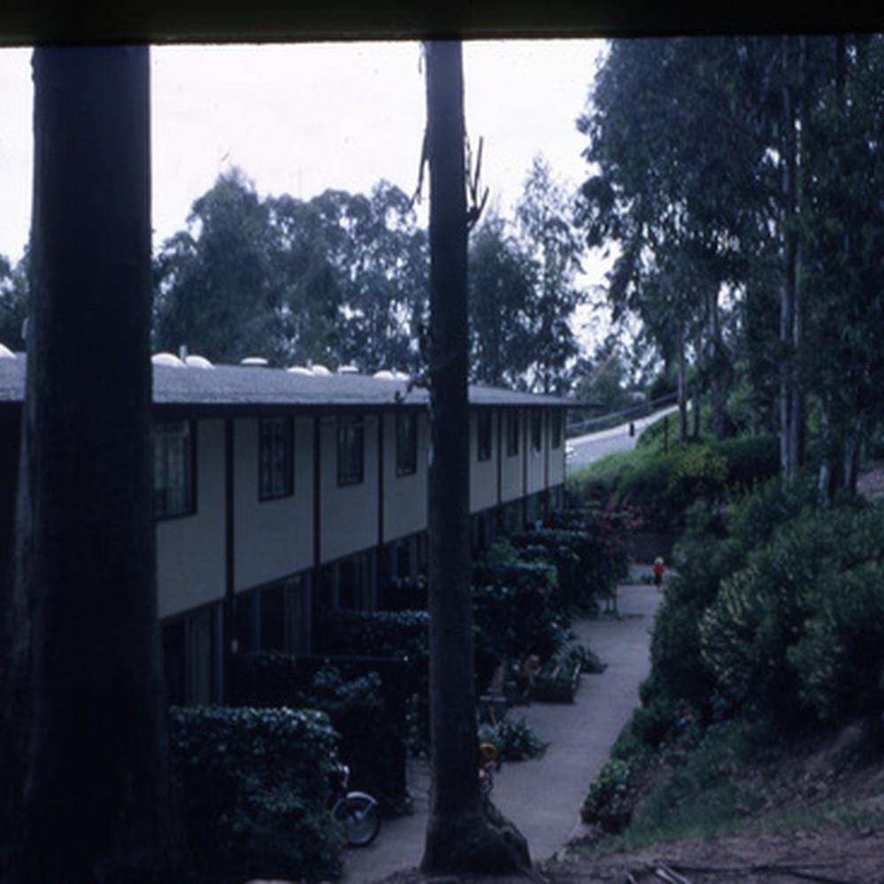 Calisphere: Aldea San Miguel student housing UCSF - back exterior